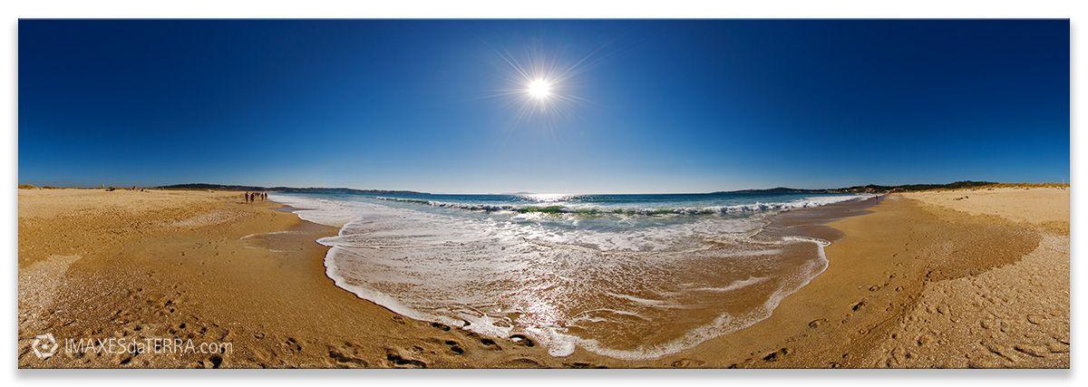 Comprar fotografía de Galicia Paisajes Gallegos Praia da Lanzada Sanxenxo O Grove Decoración Naturaleza