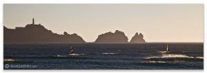 Faro de Cabo Vilan Wind, fotos de Galicia Costa da Morte