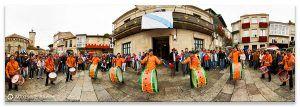 Comprar fotografía Festas de Galicia Boi de Allariz Banda de Tambores Decoración