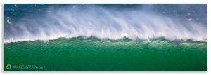 Onda Mar de  Fora en Fisterra, Comprar fotografía de Galicia Praia de Mar de  Fora Fisterra Paisaxe Horizonte Mar Temporal  Decoración natureza