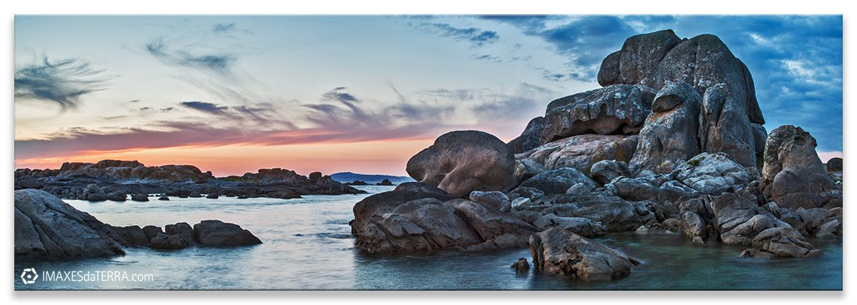 Comprar fotografía de Galicia Acantilados de San Vicente do Grove Decoración naturaleza