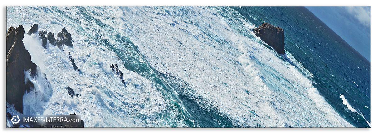 Comprar fotografía de Galicia O Centolo Cabo Fisterra Mar Decoración naturaleza