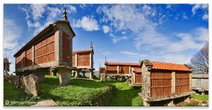 Comprar fotografía Galicia Filgueira Cerdedo Pontevedra Hórreos Decoración paisajes naturaleza Eira dá Ermida