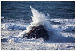 Comprar fotografía de Galicia Islote de O Centolo en Fisterra Decoración naturaleza