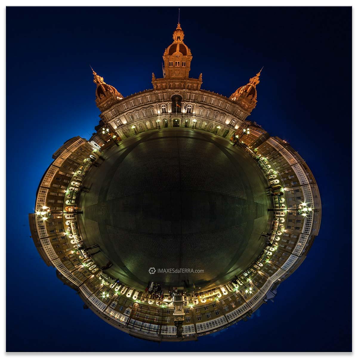 Comprar fotografía de Galicia A Coruña María Pita Decoración Fotografía 360