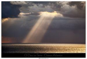 O Deus na Terra Oceano Atlántico