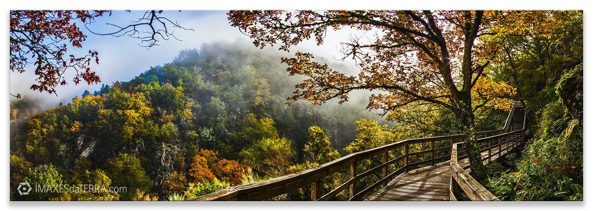 Río Mao en Ourense, Comprar fotografía Galicia Naturaleza Gallega Río Mao Ourense Decoración Paisaxes