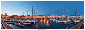 Marina Coruña, Comprar fotografía de Galicia A Coruña A Marina Galerías Náutico Decoración Panorámica