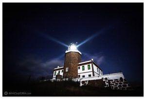 Faro Fisterra estrellas
